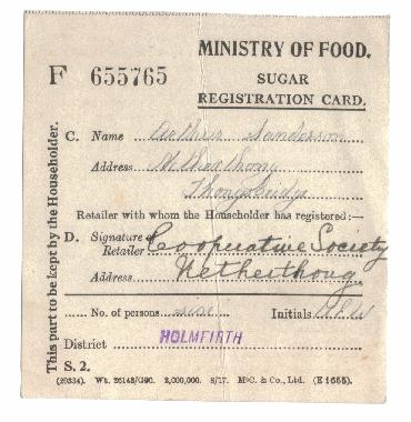 ministry of food sugar