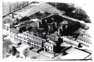 Another aerial view of the Institution