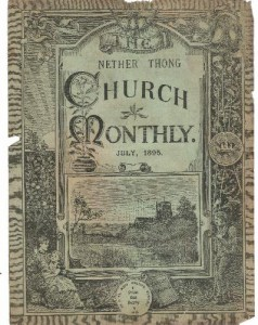 Cover of the Church Monthly for July 1895