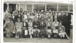 Church choir trip to Southport June 1937