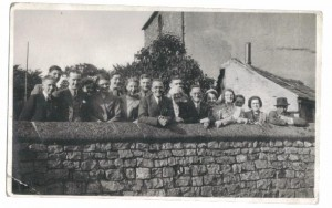 Church choir outing to Buxton on July 1941