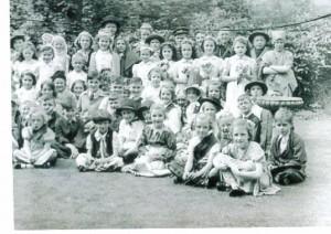 School Queen 1945