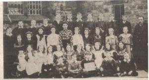 Upper school early 1900s