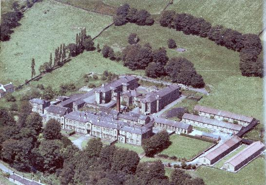 Aerial photograph of Deanhouse Workhouse