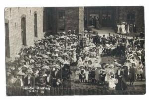 Coronation celebrations June 1991at Deanhouse Hospital