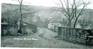Dockhill leading down to Miry Lane 1910