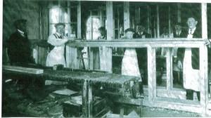 Batley's joinery premises in Giles Street, 1910s.