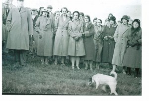 mm 28. 1st. Oldfield Sing 1933 plus dog.