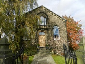 Original Zion Church now a private house up for sale in january 2013 for £725K