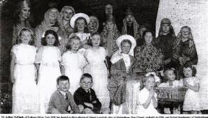 Zion Chapel Nativity play 1950