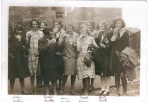 Church choir trip to Richmond 1931