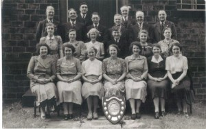 The Church choir with their trophy