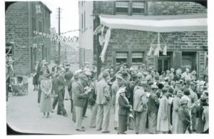 mm24. Jubilee celebrations in Towngate.