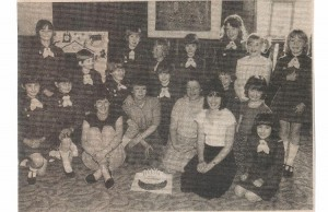 Brownies and parents May 1984