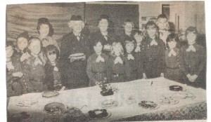 Brownies bazaar October 1979.