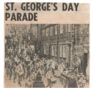 St. Georges Day Parade April 1975