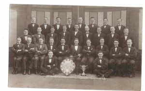 Choir & trophies 1934