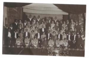 "Holmfirth & District Amateur Operatic Society - "" Our Miss Gibbs "" Dec 1927"