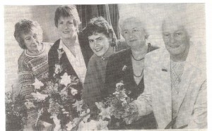 WI members at Spring Show May 1991