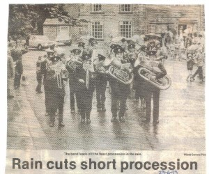 School Feast procession 1979