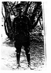 Ben Roebuck in army uniform 1914