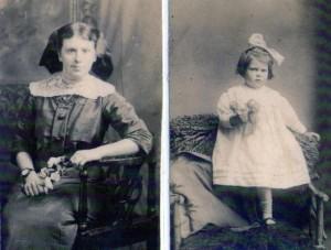 Mary Emma b.1896 & Hilda b. 1920