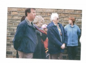 The Grand re-Opening . 20 Feb. 2001. Tony Haigh, Rita Briggs, Jackie Whiteley.