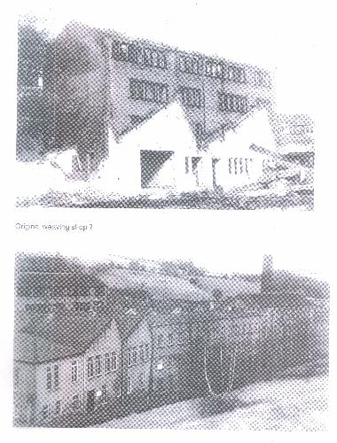 Two photographs of Deanhouse Mill.
